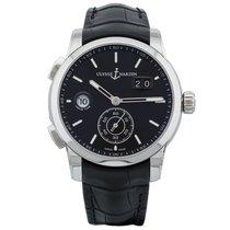 Ulysse Nardin Dual Time neu Automatik Uhr mit Original-Box und Original-Papieren 3343-126/92