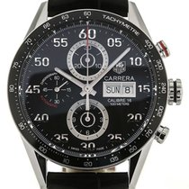TAG Heuer Carrera 43 Automatic Day Date Leather Calibre 16