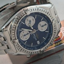 "Breitling Chronomat ""Vintage"" Blue B&P  Neuer..."