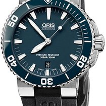 Oris Aquis Date new 2011 Automatic Watch with original box and original papers 733.7653.4155.RS