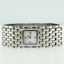 Cartier Panthére Ruban steel mother of pearl 2420