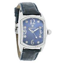 Lancaster Italy Ladies Iohio Bubble Diamond Quartz Watch 0222BLU