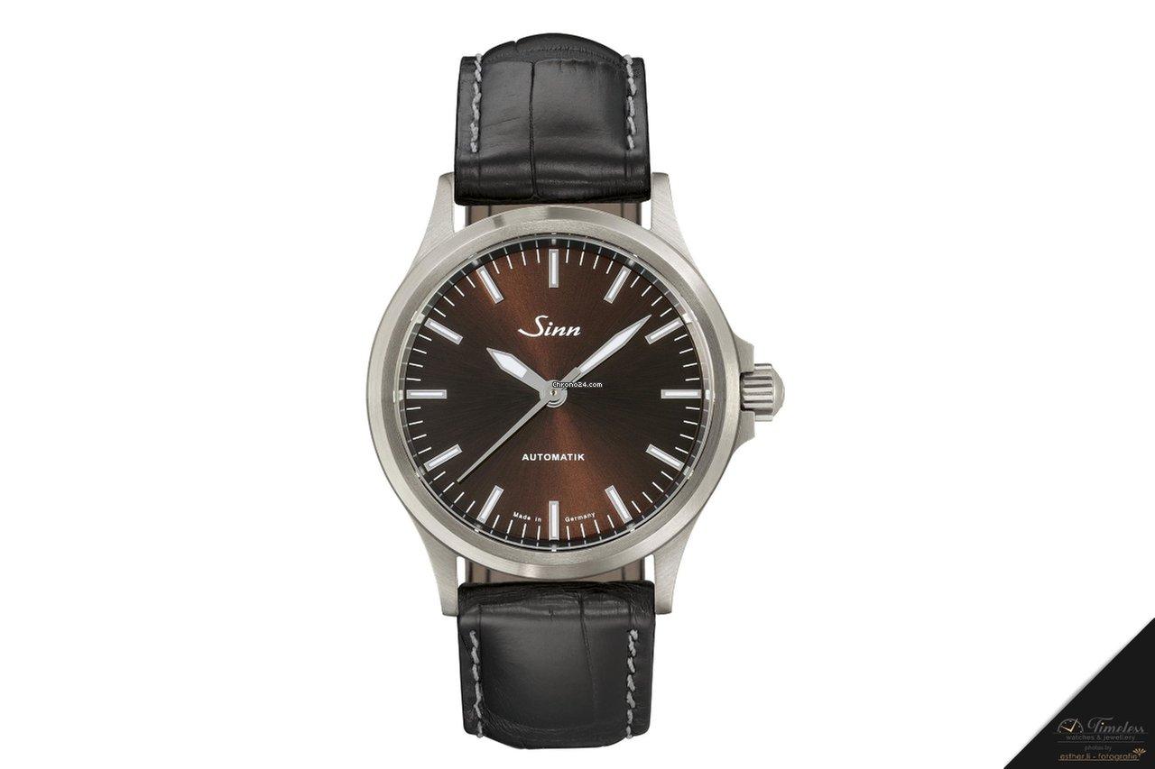 Sinn 556 I M sporty-elegant watch with leather strap NEW ...