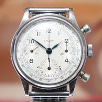 Gallet Rare Oversize Chrono Waterproof Vintage