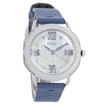 Fendi Selleria Ladies Diamond Stainless Quartz Watch FOR354XXU...