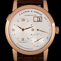 A. Lange & Söhne 38.5mm Manual winding 2006 pre-owned Lange 1 Silver