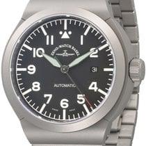 Zeno-Watch Basel Titanium 46mm Automatic 6454N-a1M new
