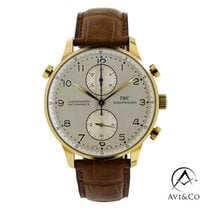IWC Portuguese Chronograph IW371203 Very good Rose gold 41mm Manual winding