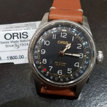 Oris Steel 39mm Automatic 75477414037 Set LS new