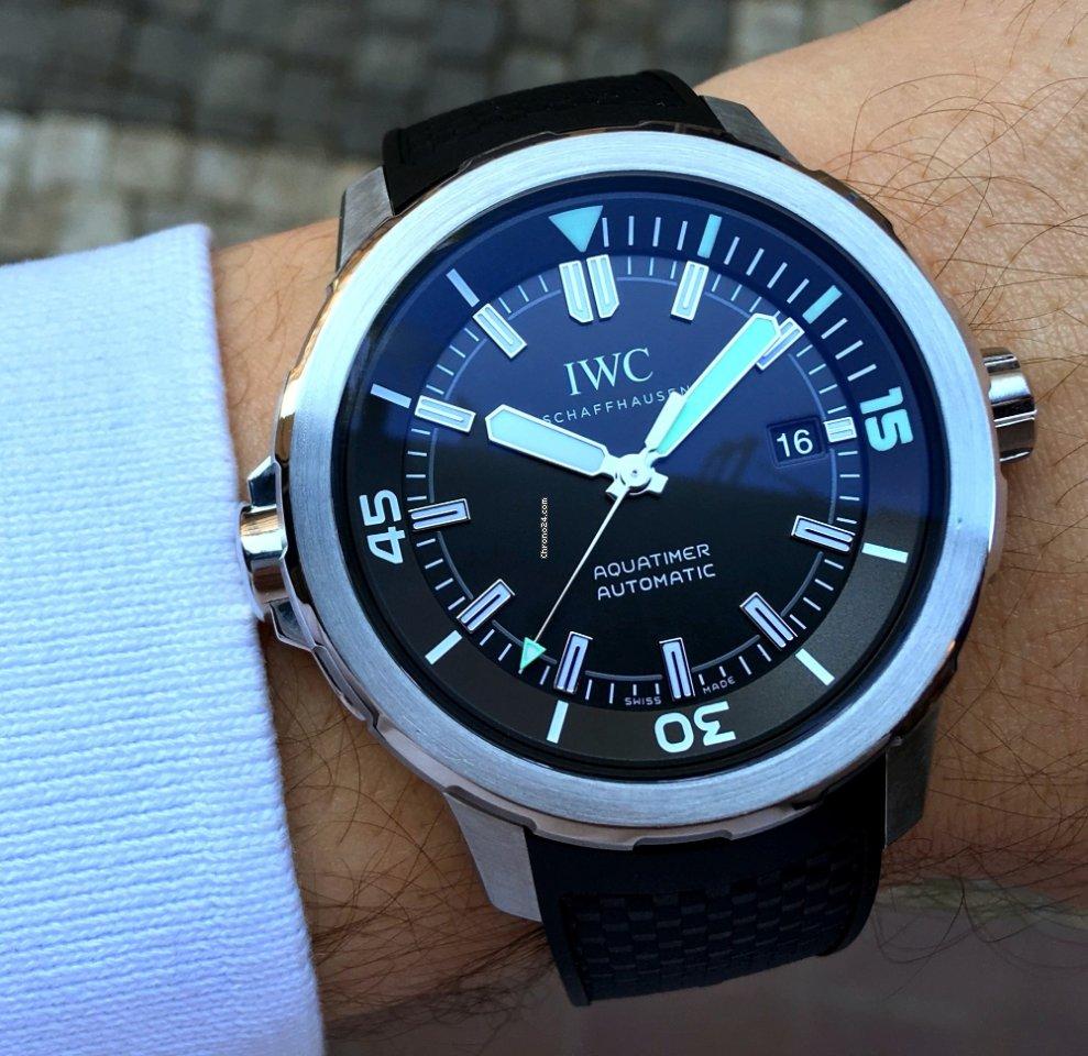 a4d05c211d1 Relógios IWC Aquatimer usados