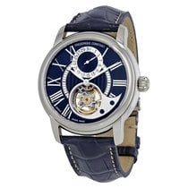 Frederique Constant Manufacture Heart Beat Acier 42mm Bleu Romain France, LYON