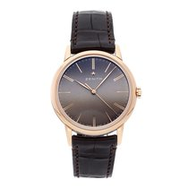 Zenith Elite Ultra Thin Rose gold 39mm Brown No numerals United States of America, Pennsylvania, Bala Cynwyd