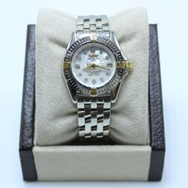 Breitling Callistino Staal 29mm Parelmoer
