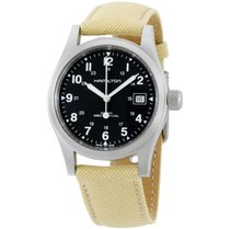 Hamilton Khaki Field Officer Steel 38mm Black Arabic numerals United States of America, New York, Brooklyn