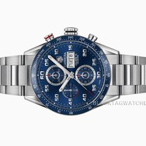 TAG Heuer Carrera Calibre 16 Steel 43mm Blue Arabic numerals United States of America, Florida, Aventura