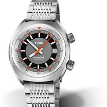 Oris Chronoris Steel 39mm Grey