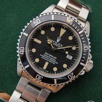 Rolex Sea-Dweller SEA-DWELLER 16600,16660 BEZEL GRADUATED FAT FOUR INSERT 1990 подержанные