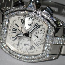 Cartier Roadster Steel 48mm Silver Roman numerals United States of America, New York, NEW YORK CITY
