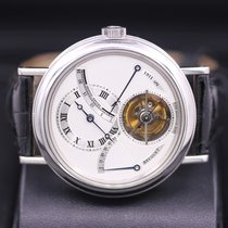 Breguet Platinum Manual winding Silver Roman numerals 39mm pre-owned Classique Complications
