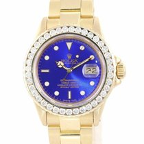 Rolex 16808 Yellow gold Submariner Date 40mm pre-owned United States of America, New York, Huntington