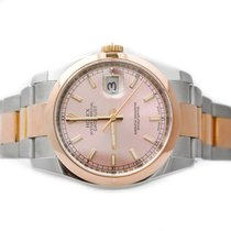 Rolex Datejust 36mm  Steel and Pink Gold