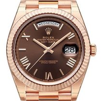 Rolex Day-Date 40 18 kt Everose-Gold Schoko R