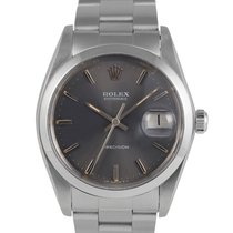 Rolex Oysterdate  Steel with Grey  Slate Dial 6694