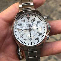 Hamilton Khaki Pilot occasion Chronographe Acier