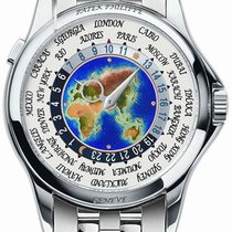 Patek Philippe World Time enamel dial