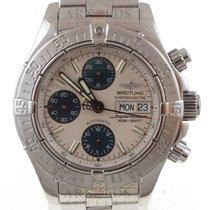 Breitling 2004 Superocean Chronograph II Silver Dial