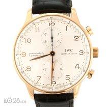 IWC IW 371402 Portuguese Chronograph Portugieser Rose Gold