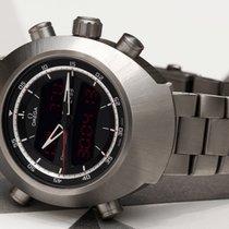 Omega Speedmaster Spacemaster Z-33 Titanium 45mm Black Arabic numerals