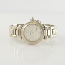 Cartier Pasha 18k white gold reference 2528