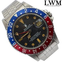 Rolex GMT Master 16750 Tropical dial Pepsi blue red 1980