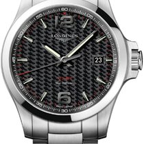 Longines Conquest Steel 43mm Grey United States of America, New York, Airmont
