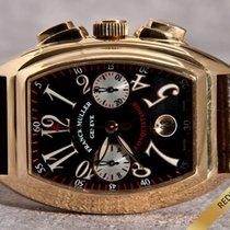 Franck Muller CC Conquistador Chronograph XL  / 18K Yellow...
