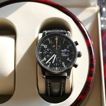 Fortis Pilot Professional Chronograph PVD with Skeleton Case...