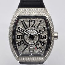 Franck Muller Vanguard After Setting Diamond