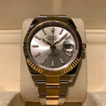 Rolex Datejust 41mm Steel and Gold B&P