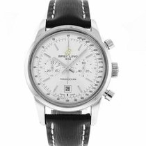 Breitling Transocean Chronograph 38 pre-owned 38mm Leather