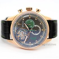 Zenith El Primero Tourbillon Rose gold 44mm Grey No numerals United States of America, Florida, Aventura