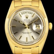 Rolex Day-Date Yellow gold 36mm Silver No numerals United Kingdom, London