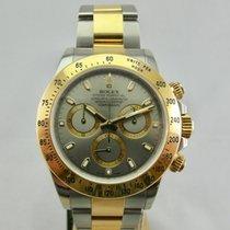 Rolex Daytona Guld/Stål 40mm Inga siffror