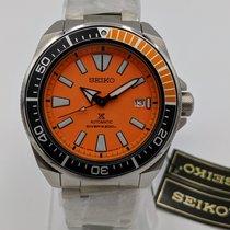 Seiko Prospex Steel 44mm Orange United States of America, Oregon, Tigard