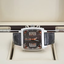 TAG Heuer Monaco Calibre 36 Steel 40.5mm Grey No numerals United States of America, Florida, Orlando