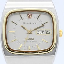 Omega Constellation Day-Date Acero y oro 36mm Gris Sin cifras España, Barcelona