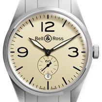 Bell & Ross Acero 41mm Automático BR-123-ORIGINAL-BEIGE-STEEL nuevo