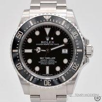 Rolex Sea-Dweller 4000 Ocel 40mm Černá Bez čísel