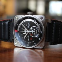 Bell & Ross BR 03-90 Grande Date et Reserve de Marche Steel 42mm Black United States of America, Illinois, Chicago