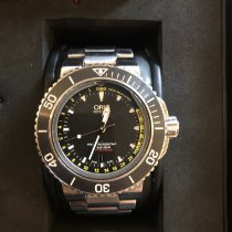 Oris Aquis Depth Gauge 01 733 7675 4154-Set 2013 pre-owned